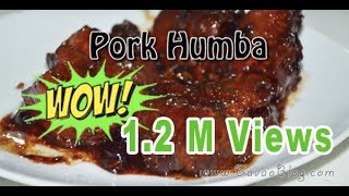 Pork Humba Recipe