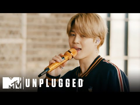 "BTS Performs ""Telepathy"" MTV Unplugged Presents BTS"