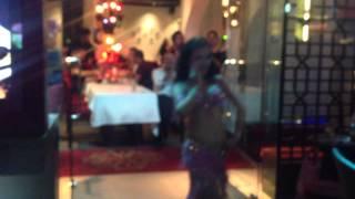 Crystina wang dance Kajre Re in Shariz on Oct 2013