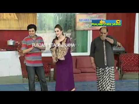 Nargis asking [ Sohag Raat (سہاگ رات) kya hai ]- Pakistani Punjabi Comedy Stage Drama