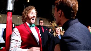 Christmas Magic With Celebrities!!! (TJ Miller)