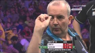 Phil Taylor vs Michael Smith Judgement Night 9th Week Premier League Darts 2016