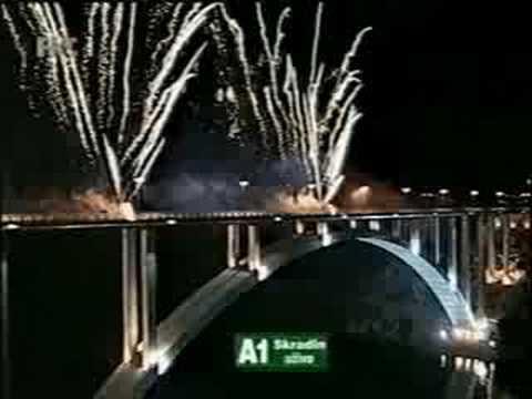 Skradinski most Mirnovec pirotehnika