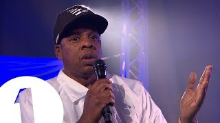 Jay-Z speaks to Clara Amfo ahead of his BBC Radio 1 Live Lounge