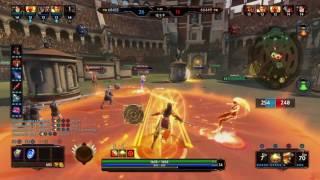 Smite: Amaterasu la bouchère avec Sariks