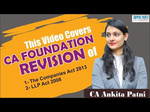 Xxx Mp4 CA Foundation Revision By CA Ankita Patni Part 1 3gp Sex