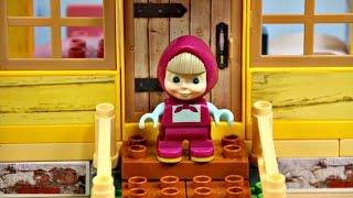 Masha and The Bear / Masza i Niedźwiedź - Masha's House / Domek Maszy -  PlayBig Bloxx - 57096