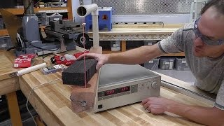 DYI - Let's Build A Styrofoam Cutter AKA Hot Wire ( HOW TO GUIDE) Using Scrap Laying Around