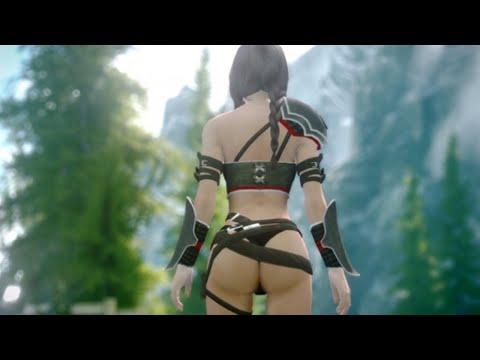 Skyrim Ultra Realistic Graphics Mod Part 2 1080p HD