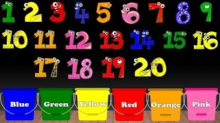 Learn Colors Numbers Sorting for Kids Educational Video Kindergarten Preschool Game