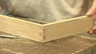 How to make a Dovetail - The Three Joints - with Paul Sellers