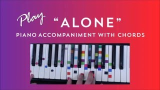 Alone - Easy Piano Tutorial - Heart