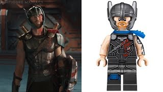 LEGO THOR RAGNAROK - Minifigures VS Movie