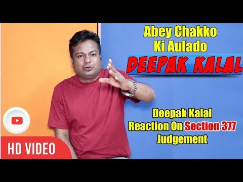 Xxx Mp4 Deepak Kalal Reaction On Section 377 Judgement 3gp Sex