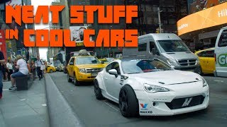 We Took The Craziest Street-Legal Drift Car In The World To Times Square   Neat Stuff in Cool Cars