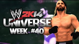 My WWE 2K14 Universe - Week 40 - EPISODE FORTY FOUR / GO HOME SHOW