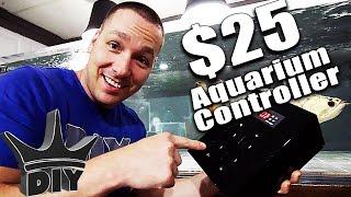 DIY aquarium heater controller