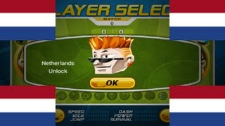 Head Soccer - How to Unlock Netherlands