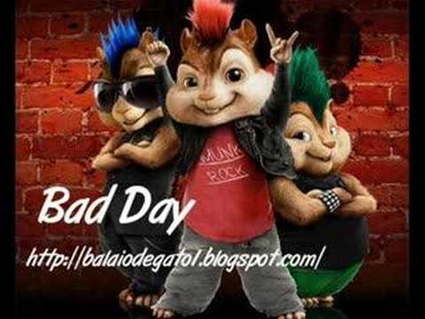 Alvin e os esquilos.Bad Day.