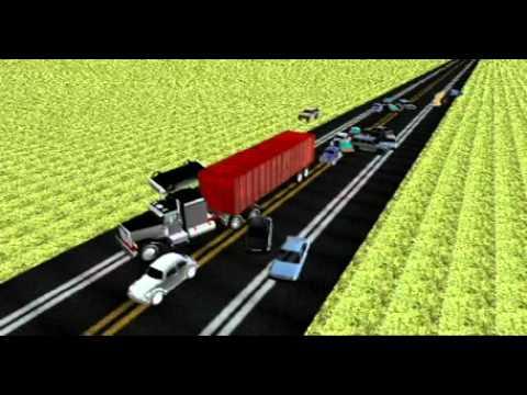 Tráiler ocasiona grave accidente en la México Querétaro.mov