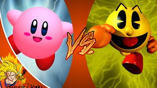 KIRBY vs PAC MAN! Cartoon Fight Club Episode 73 REACTION!!!
