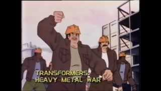 opening  closing to transformers the movie 1987 vhs