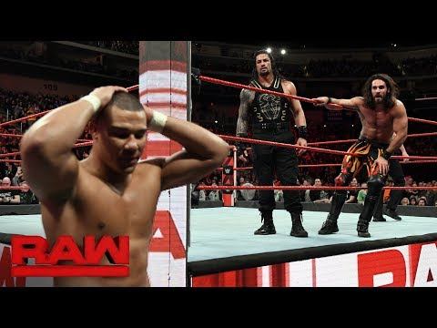 Xxx Mp4 Cesaro Amp Sheamus Vs Roman Reigns Amp Seth Rollins Raw Tag Team Title Match Raw Feb 5 2018 3gp Sex