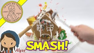Happy New Year 2017 Welcome 2018! Alyse & I Do A Gingerbread Smash!