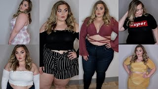 Spring Plus-Size Clothing Haul & Try-On | Fashion Nova