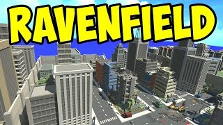 Ravenfield - NEW CITY MAP! URBAN COMBAT! - Let's Play Ravenfield Gameplay