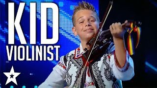 Young Musician Storms The Stage on Românii au Talent | Got Talent Global