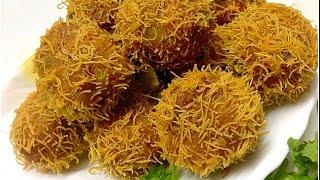 Semiya Cutlet /Vegetable Bird Nest / Kilikood Malabar Iftar dish