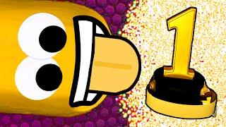 SLITHER.IO - PRIMOOOO!!! FINALMENTE C**ZOOO!!