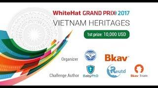 VTV1 - Cuộc thi An ninh mạng toàn cầu WhiteHat Grand Prix 2017
