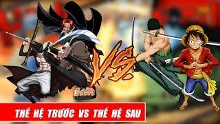 Song đấu One Piece  - Thế hệ sau vs Thế hệ trước - Shank Mihawk vs Zoro Luffy
