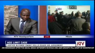 AGE LIMIT PETITION RULING: Justices; Kenneth Kakuru, Remmy Kasule and Alphonse Owiny-Dollo