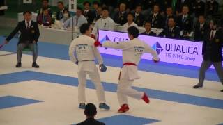 2016 JKF All Japan 荒賀 vs 西村 Araga vs Nishimura