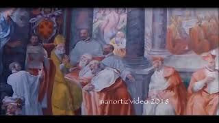 Basilica s.Maria in Trastevere, Pasquale Cati, Pius IV promulgates the bull Benedictus Deus