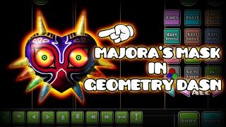 Geometry Dash Speedart | MAJORA'S MASK ART