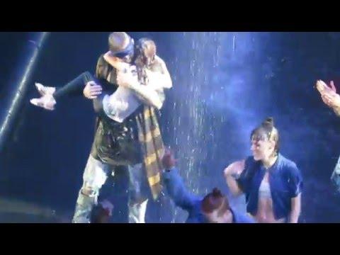 sorry - justin bieber dancing  his sister toronto