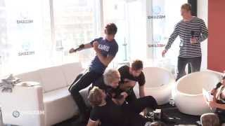 5 Seconds of Summer Recreate A 'Foetus' Photo From Their Past!