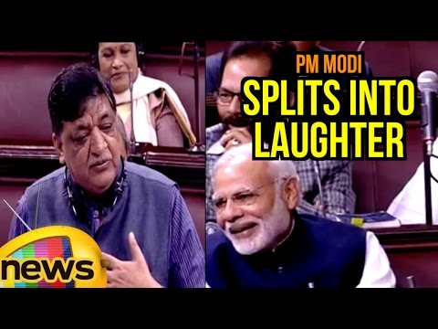 PM Modi Splits Into Laughter Over Naresh Agarwal Comments In Rajya Sabha | Mango News