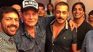 INSIDE Pics - Salman Khan's FATHER Salim's BIRTHDAY Party 2015 - Shoaib Akhtar, Sohail Khan