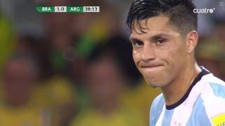 Enzo Pérez vs Brazil | 11.11.2016