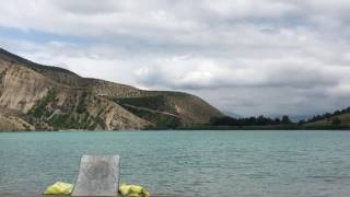 Lake jamp in iran