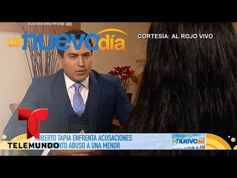 Acusan a Roberto Tapia de abusar sexualmente de una niña Un Nuevo Día Telemundo