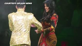 (WATCH) OMG! Prince KICKS Kim Kardashian Off Stage