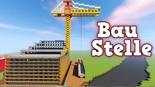 Baustelle   Wie baut man eine Stadt in Minecraft deutsch   Minecraft Stadt bauen deutsch