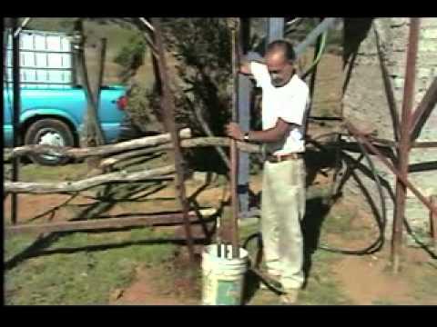 Bomba hidraulica casera