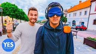 Dropped Blindfolded in a New Country with No Money!!